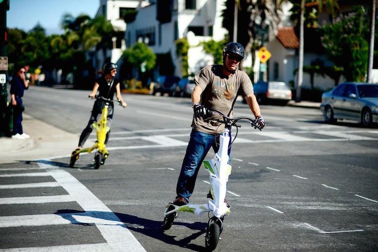 Les moyens de transports insolites envahissent la capitale !2