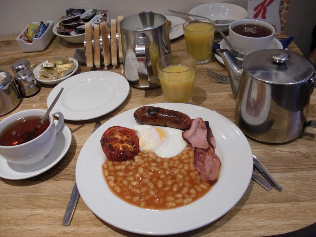 Comment se faire un petit déjeuner anglais typique ?1