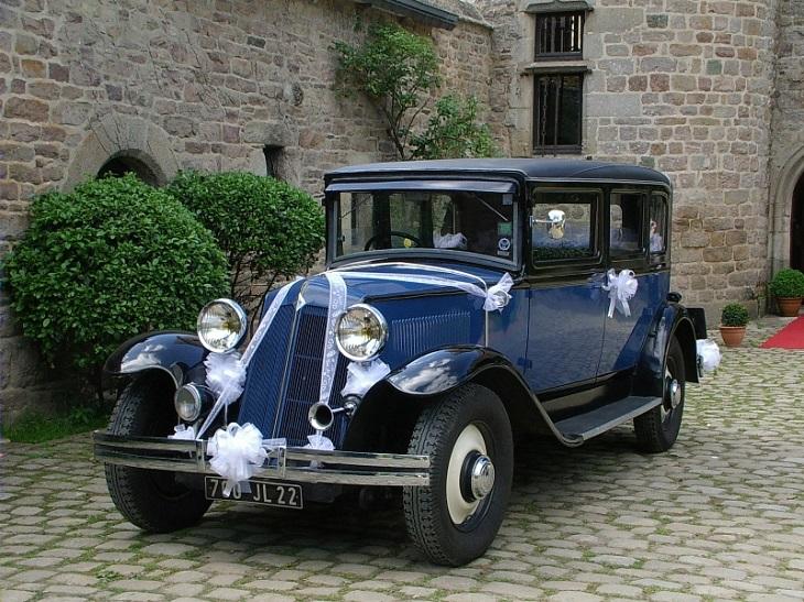 Nostalgie et charme rétro de la voiture de collection 3