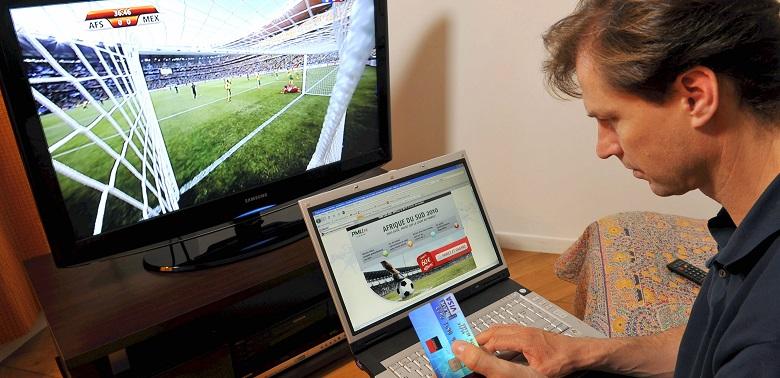 Paris en ligne sur le football