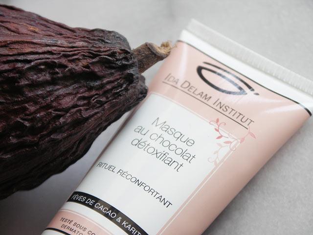 masque au chocolat-