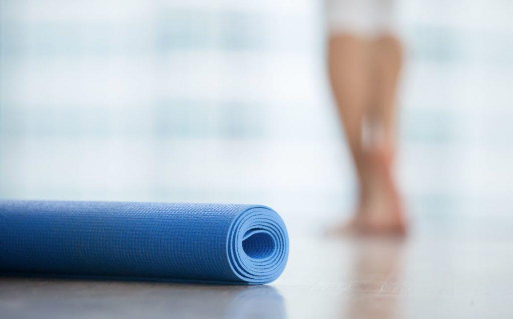 tapis de gym fitness
