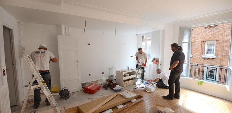 r novation d appartement paris facteurs de son co t. Black Bedroom Furniture Sets. Home Design Ideas